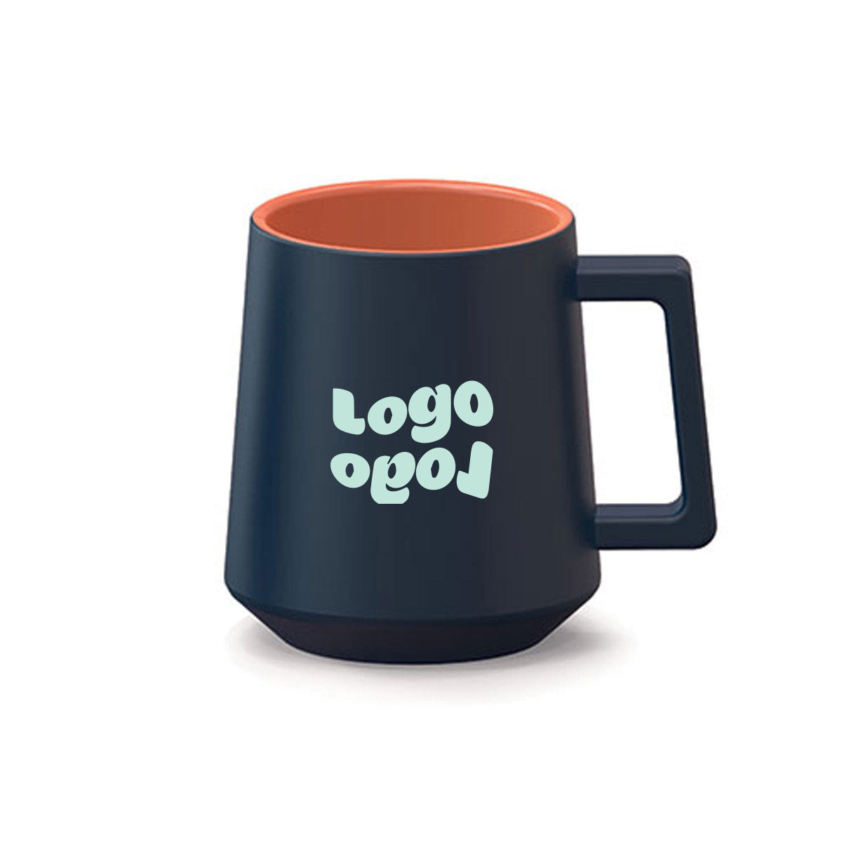 269345 tied coffee mug one color one location imprint