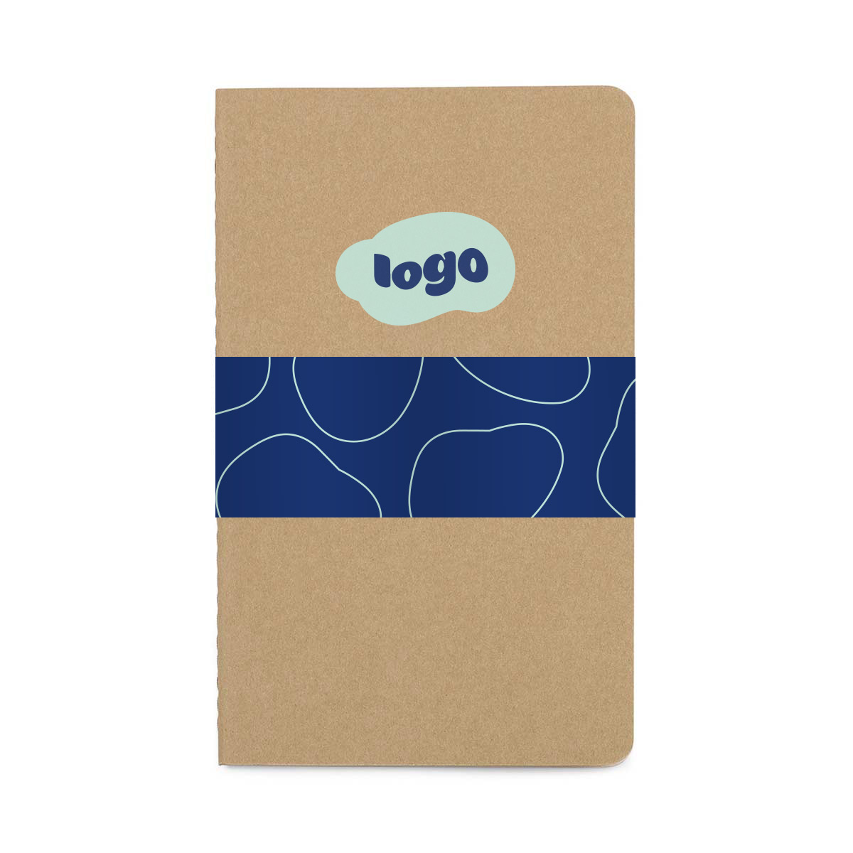 269646 cahier grid large notebook full color belly band two color one location imprint