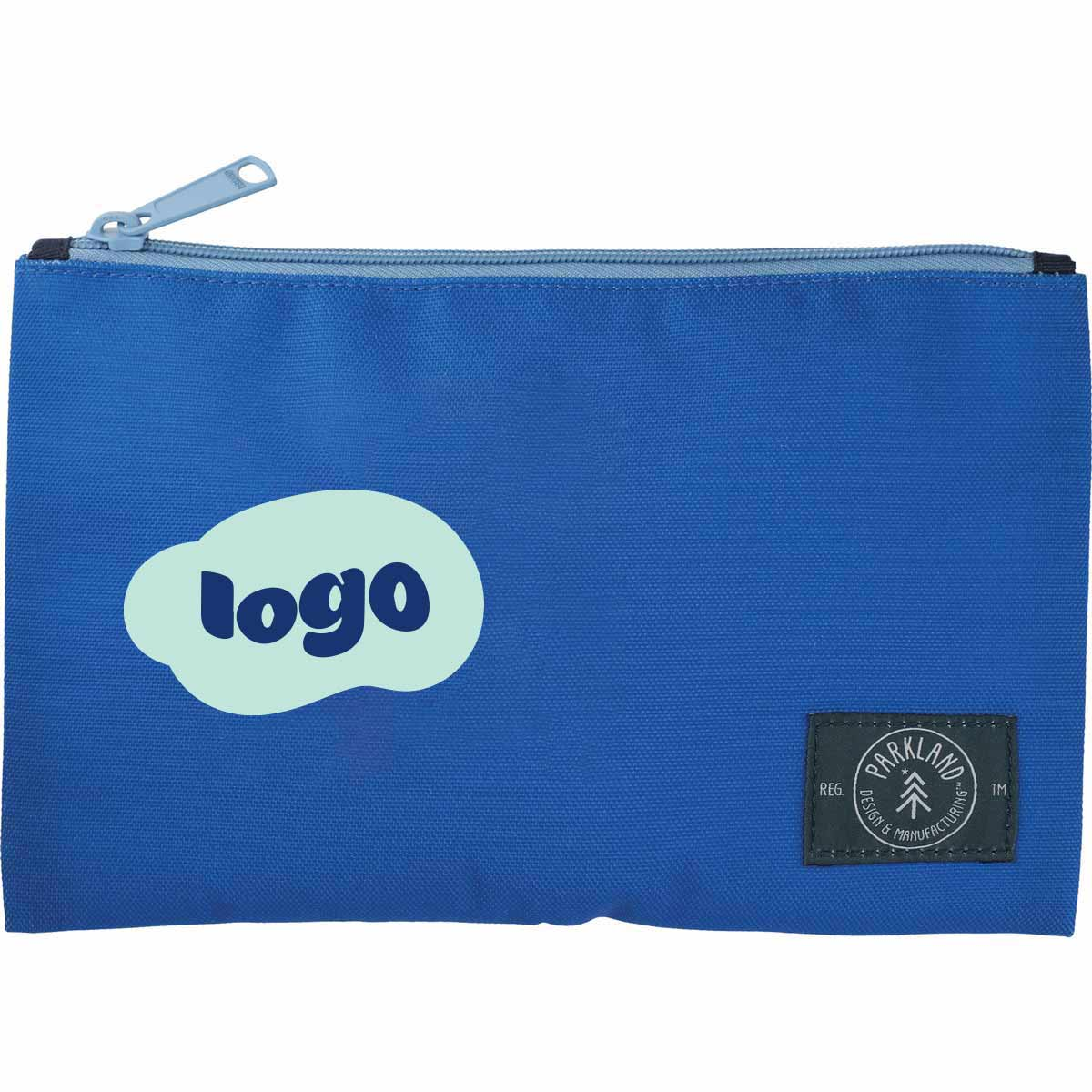 268149 fraction travel pouch two color heat transfer one location