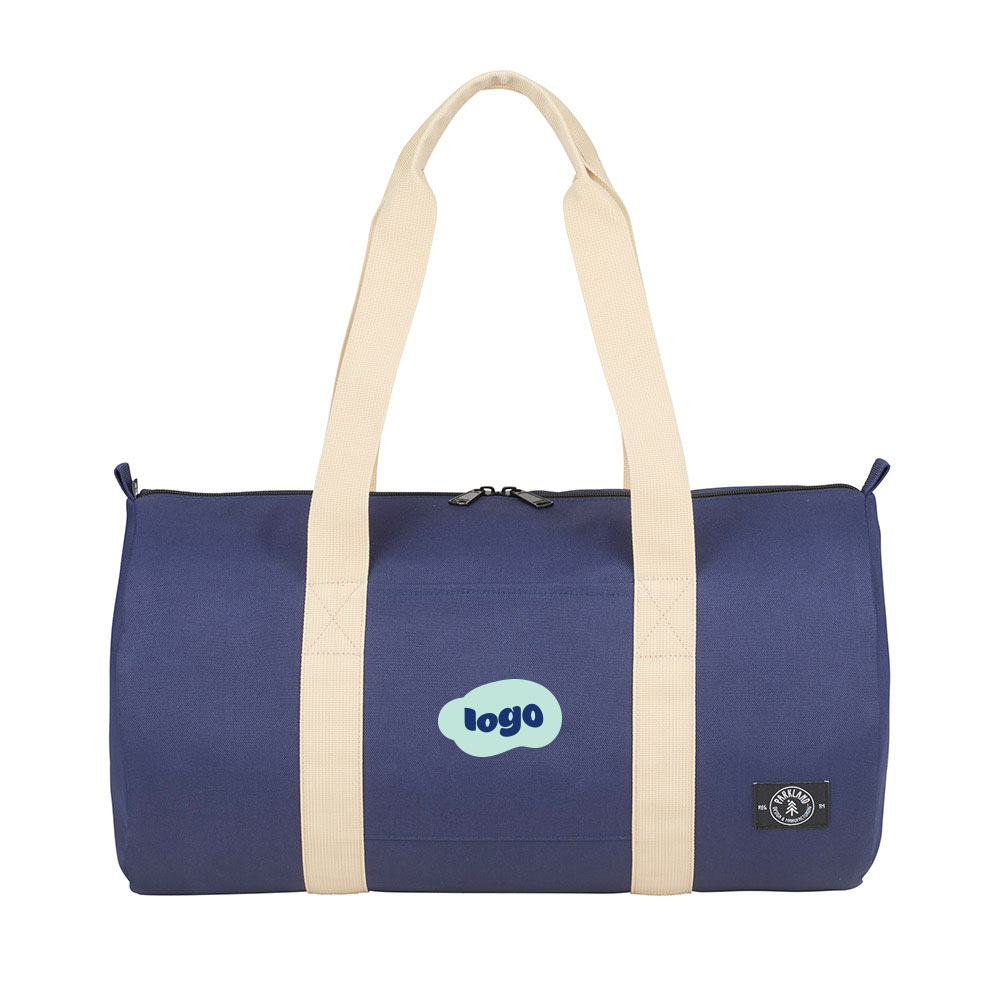 269350 lookout recycled duffel two color one location imprint