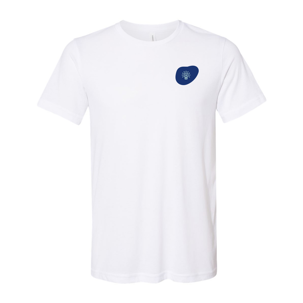 269643 unisex sueded tee two color one location imprint