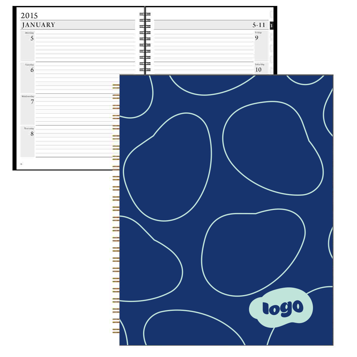 267942 fane weekly planner full color 1 sided digital insert