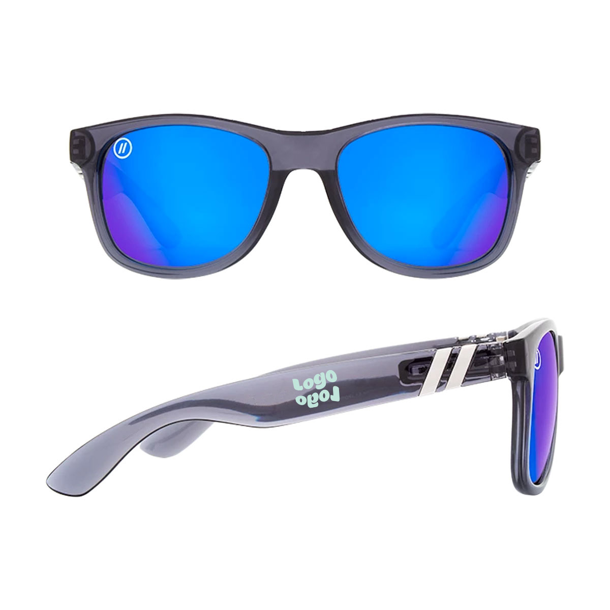 267962 m class x2 sunglasses two color imprint one side