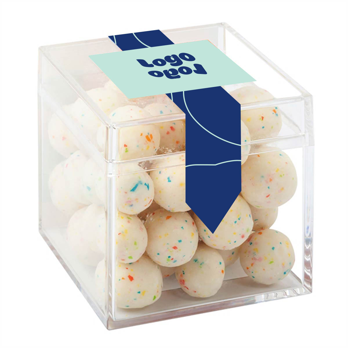 269651 birthday cake bites box full color label