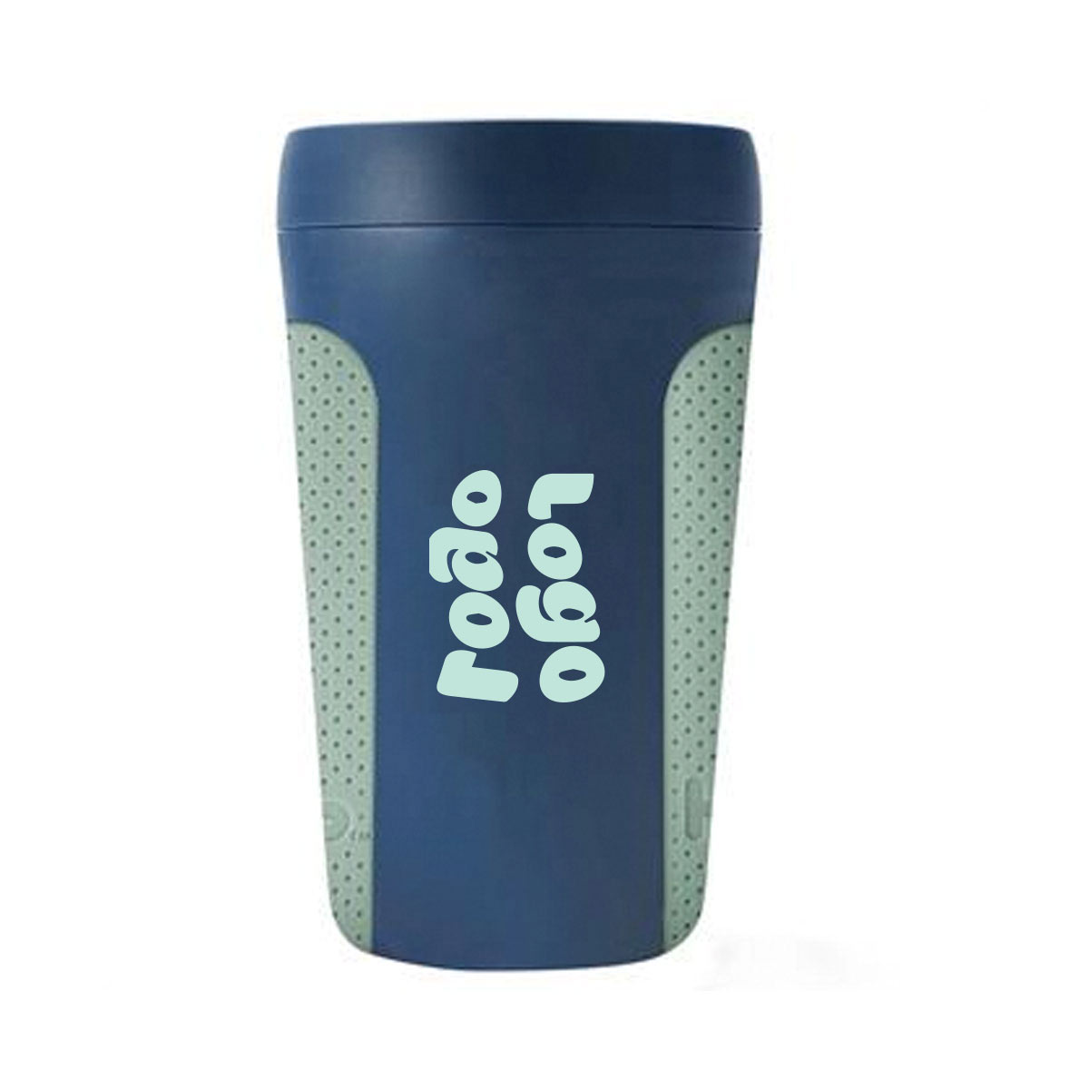 268607 12 oz coffee cup one color one location imprint