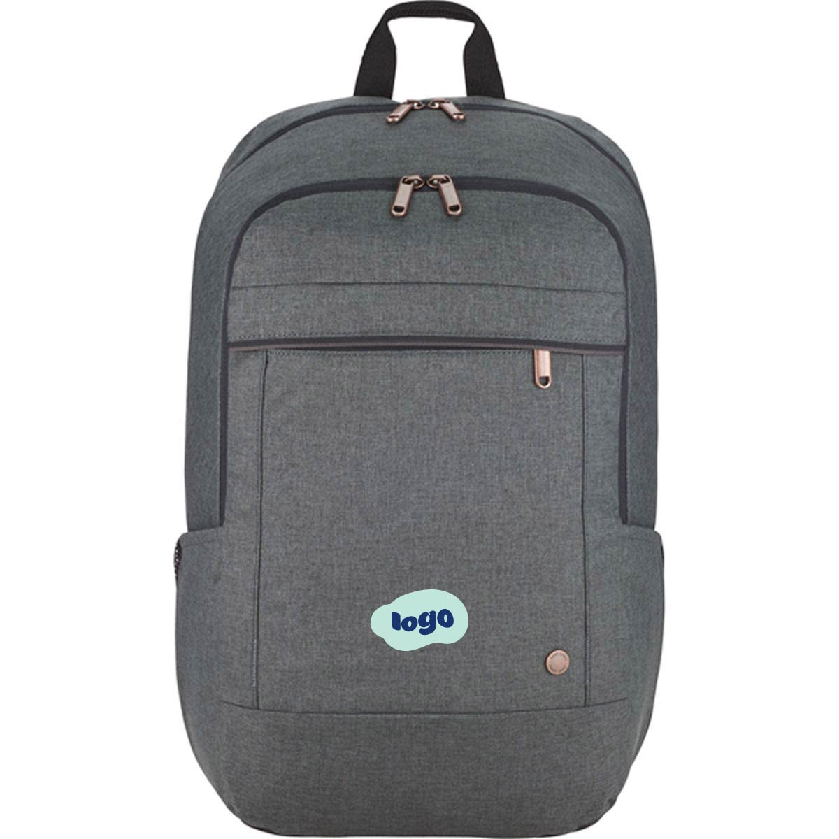 267951 era computer backpack two color one location imprint