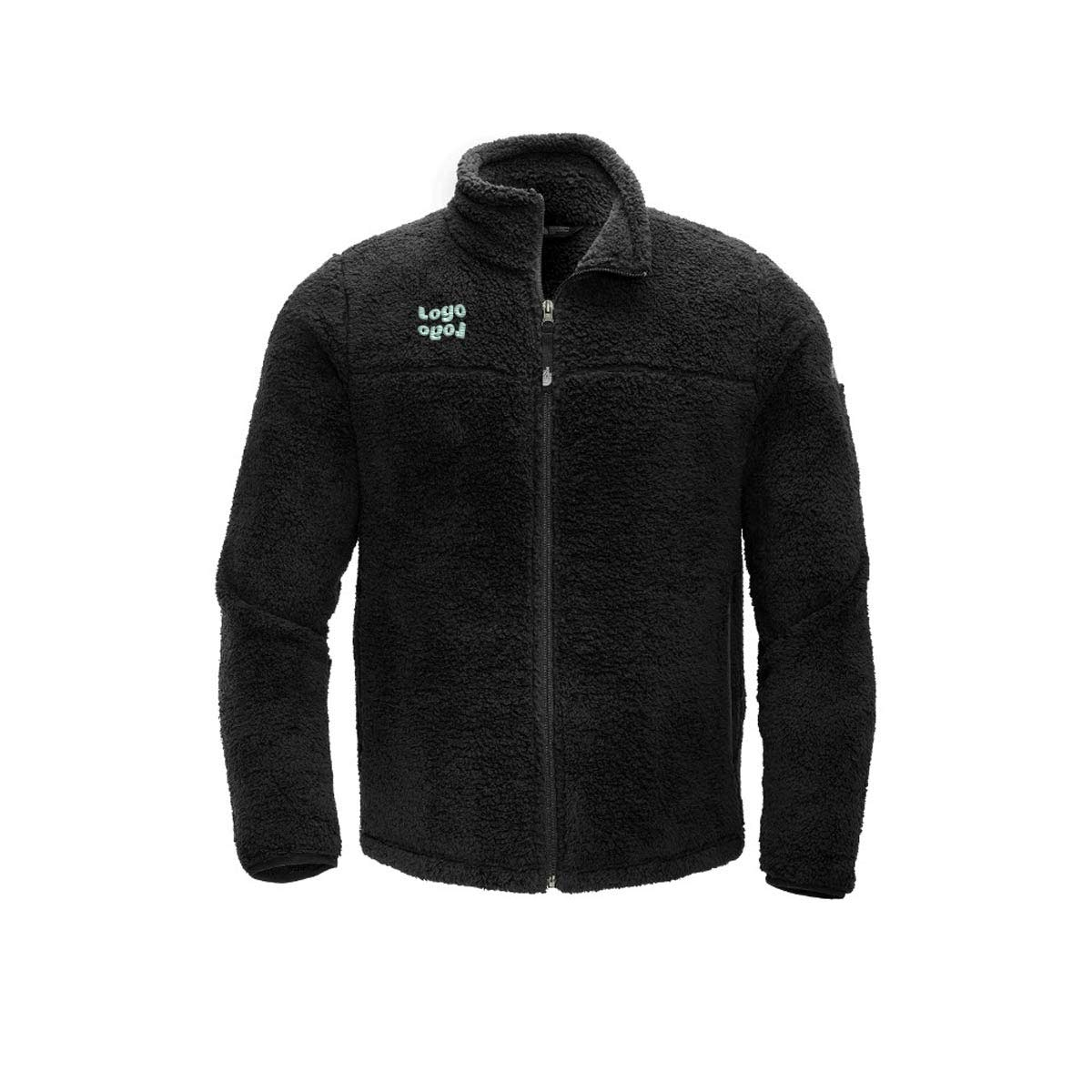 269634 high loft full zip fleece one location embroidery up to 4k stitches