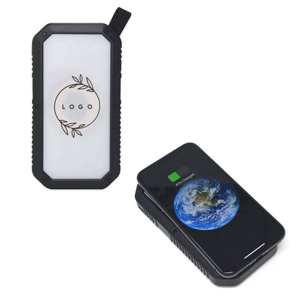 288046 escape solar power bank one side full color process