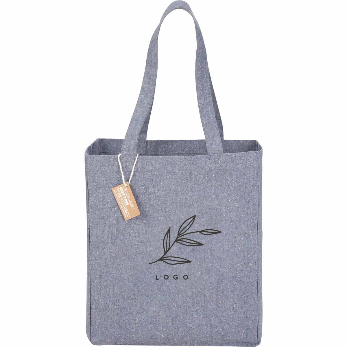 287074 lilou eco cotton tote one color one location imprint