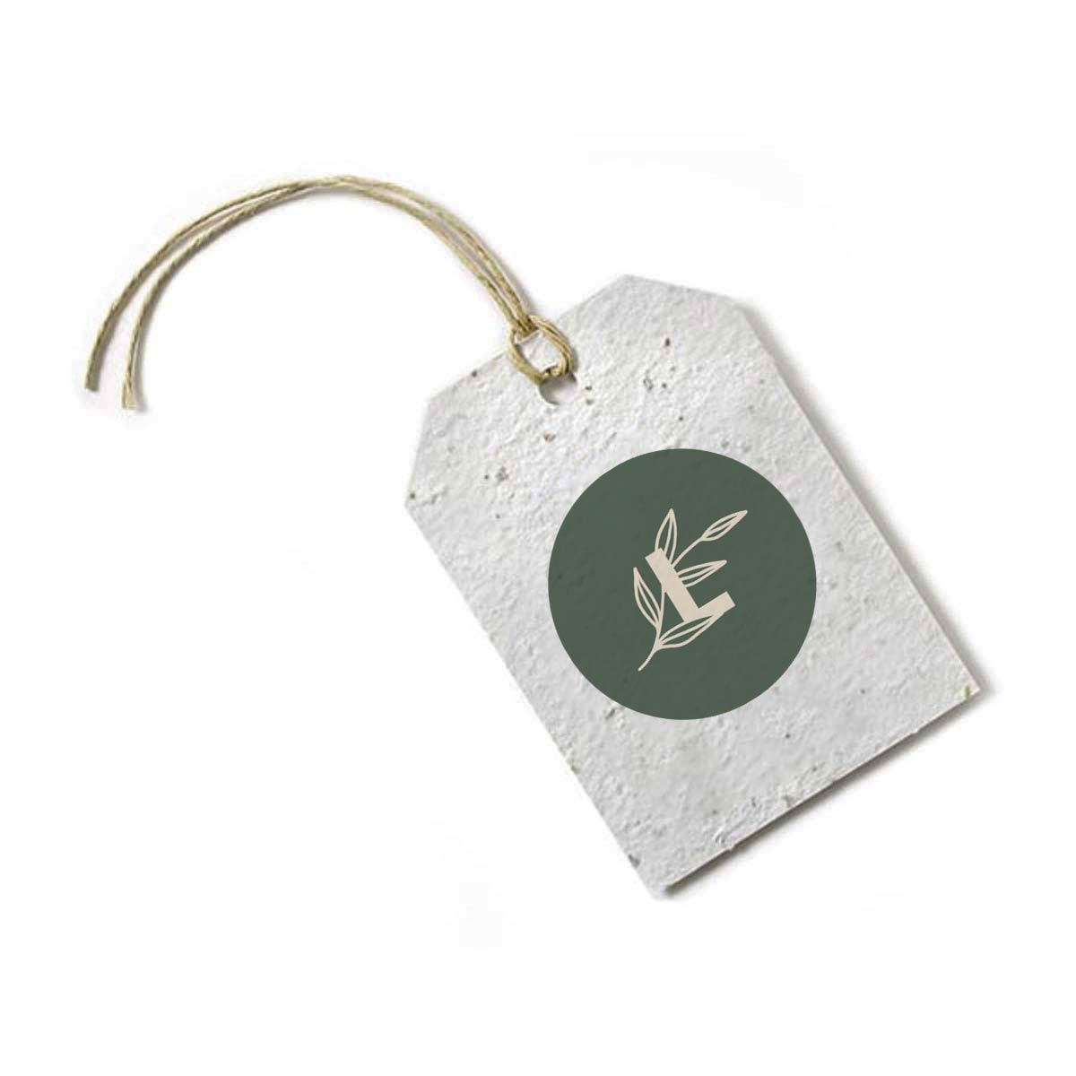 287071 seed paper tag 1 side imprint full color