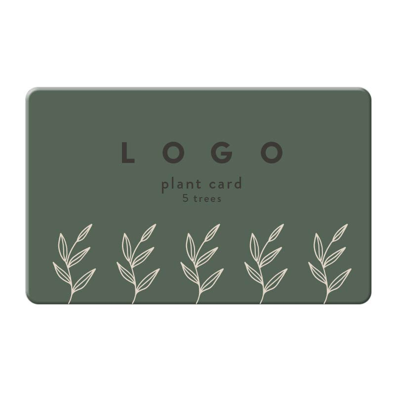 288513 plant a tree card 5 trees