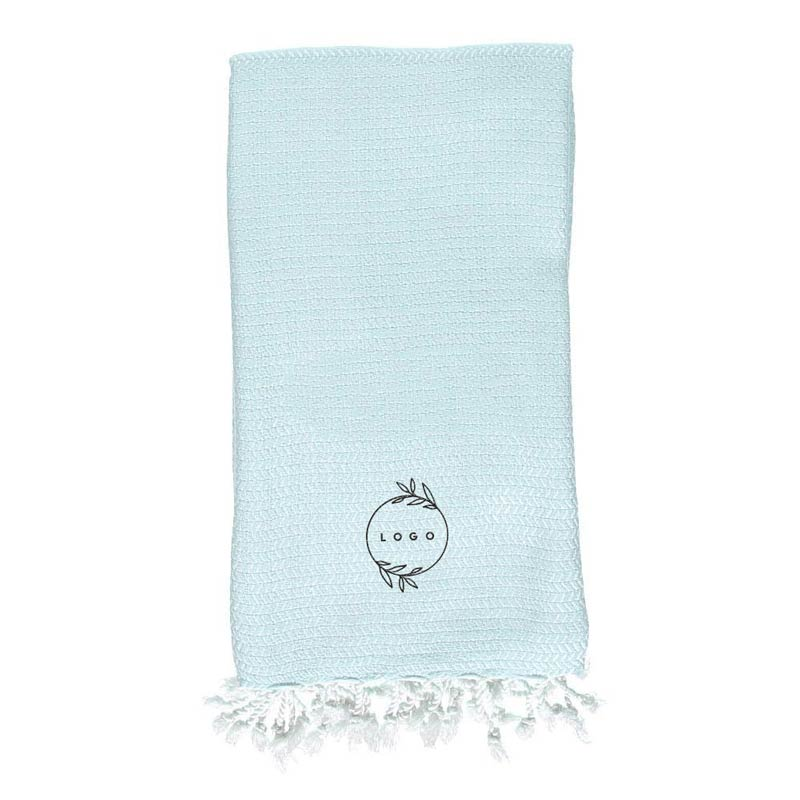 287823 bamboo tassel towel one location embroidery up to 7k stitches