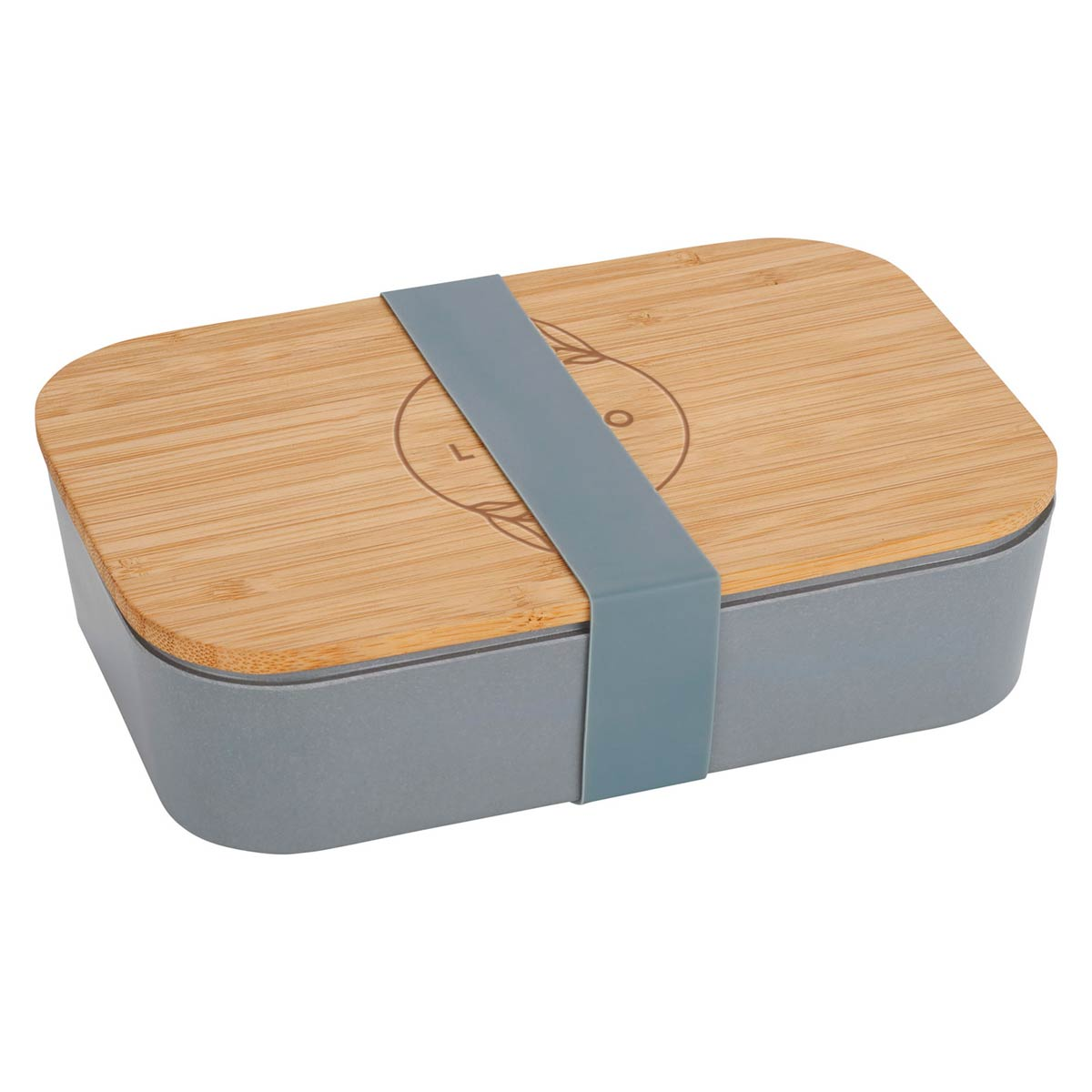 287884 bamboo bento box one location laser engraved