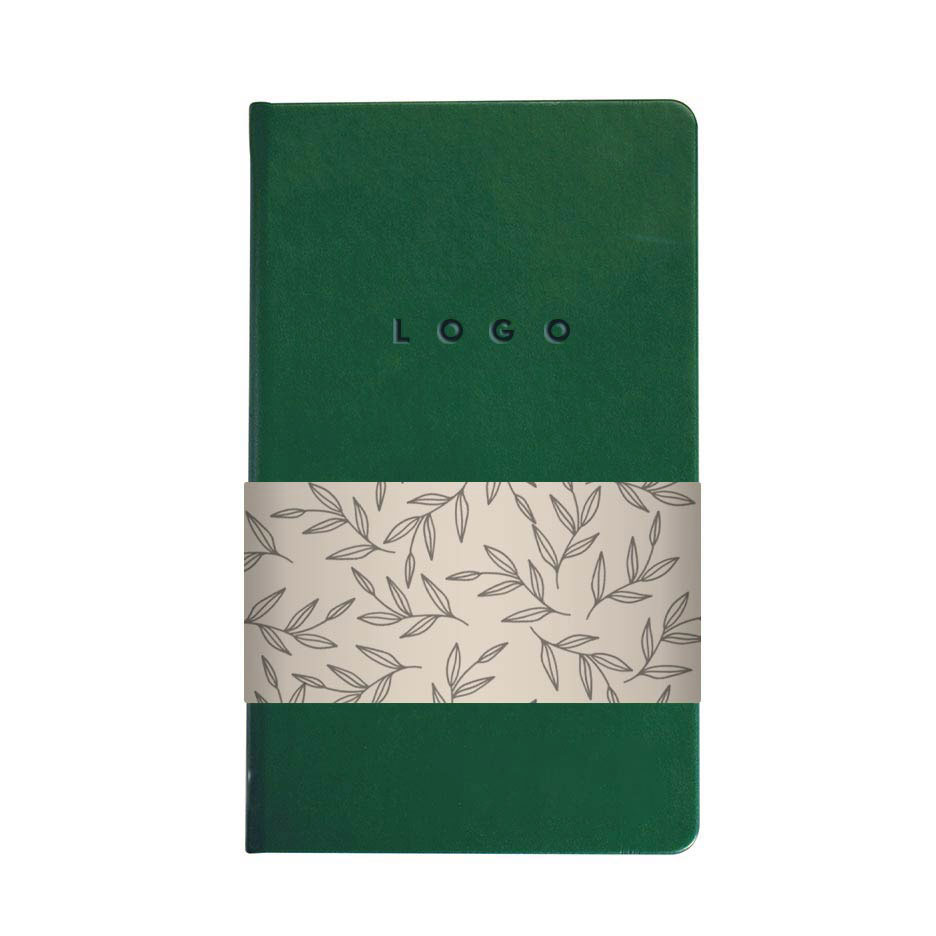 289312 eco bennet journal one location deboss full color wrap