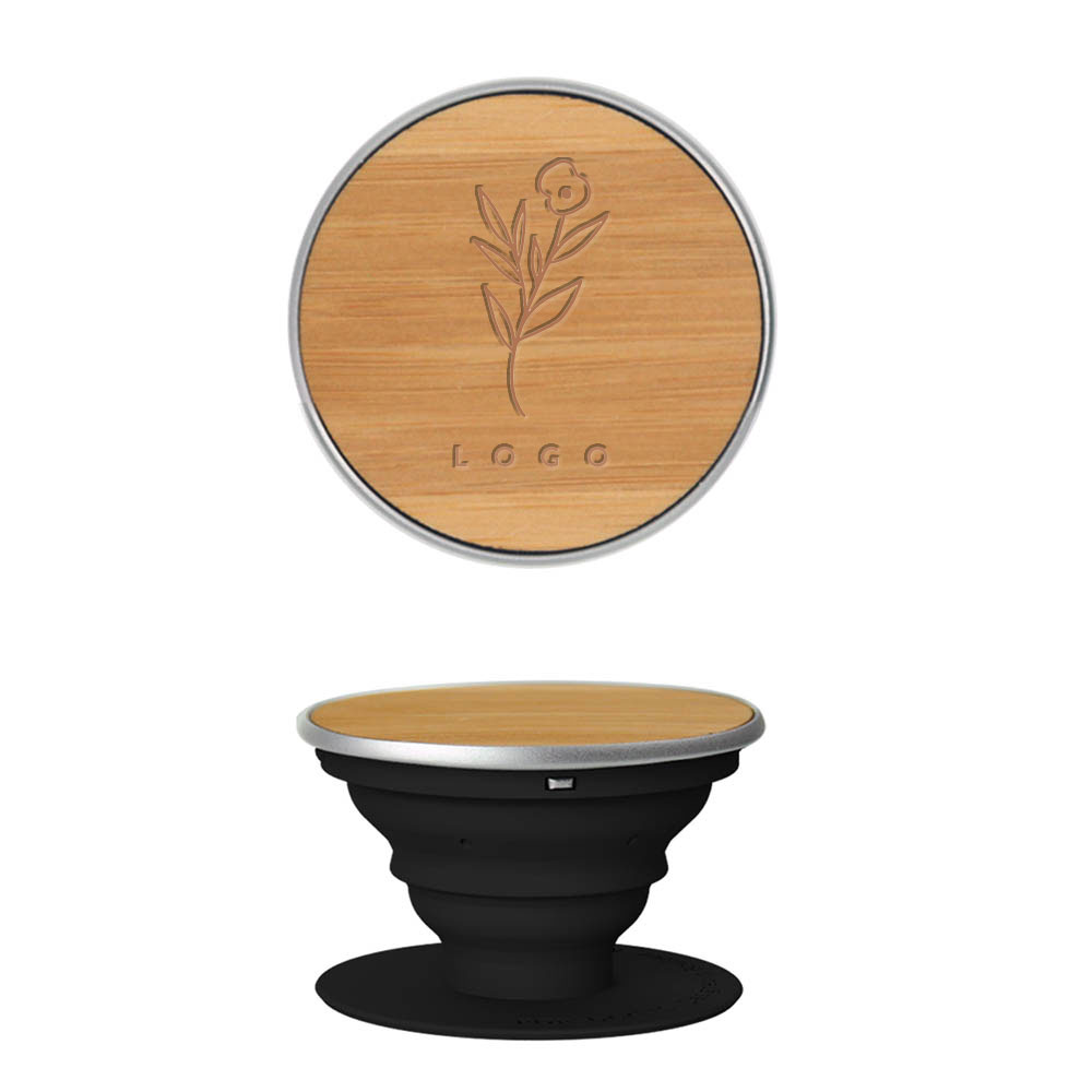 Wood pop socket