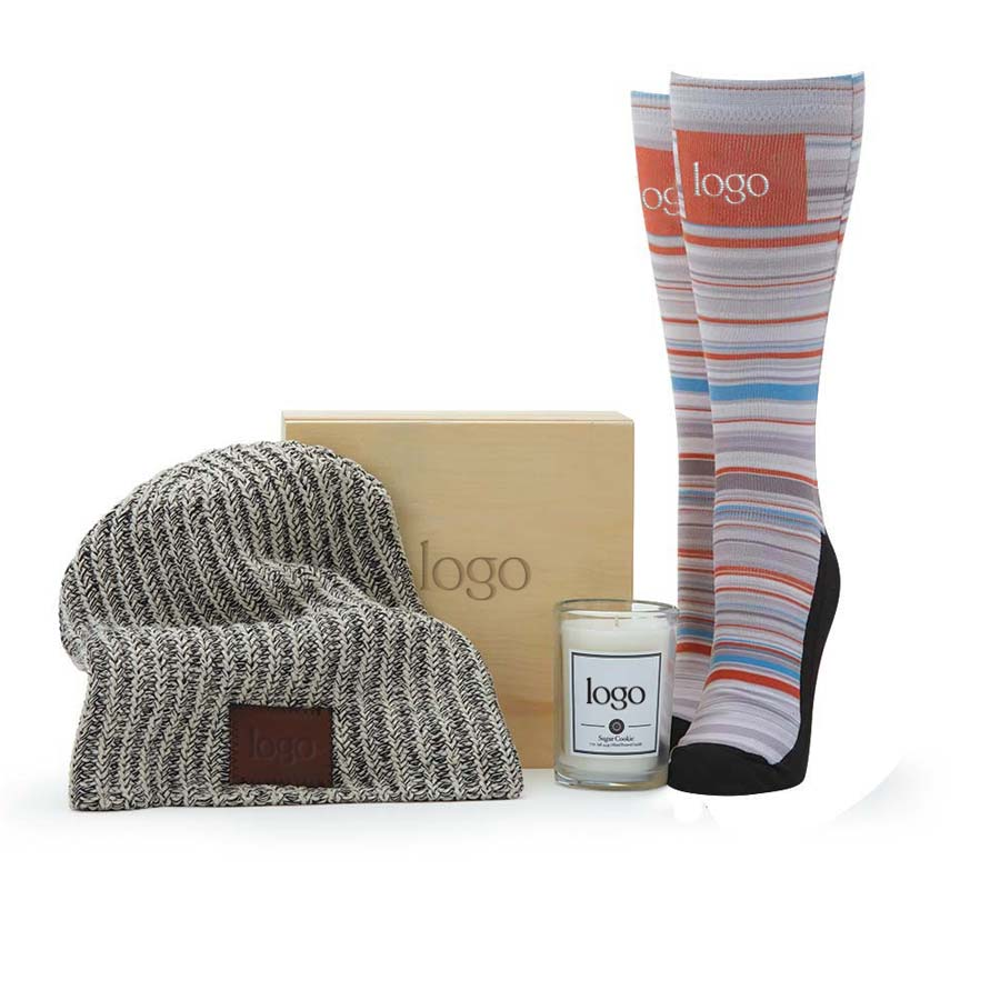 298689 snuggle up gift set full color imprint on products