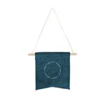 Medium 298595 mini corduroy wall pennant one color imprint one side