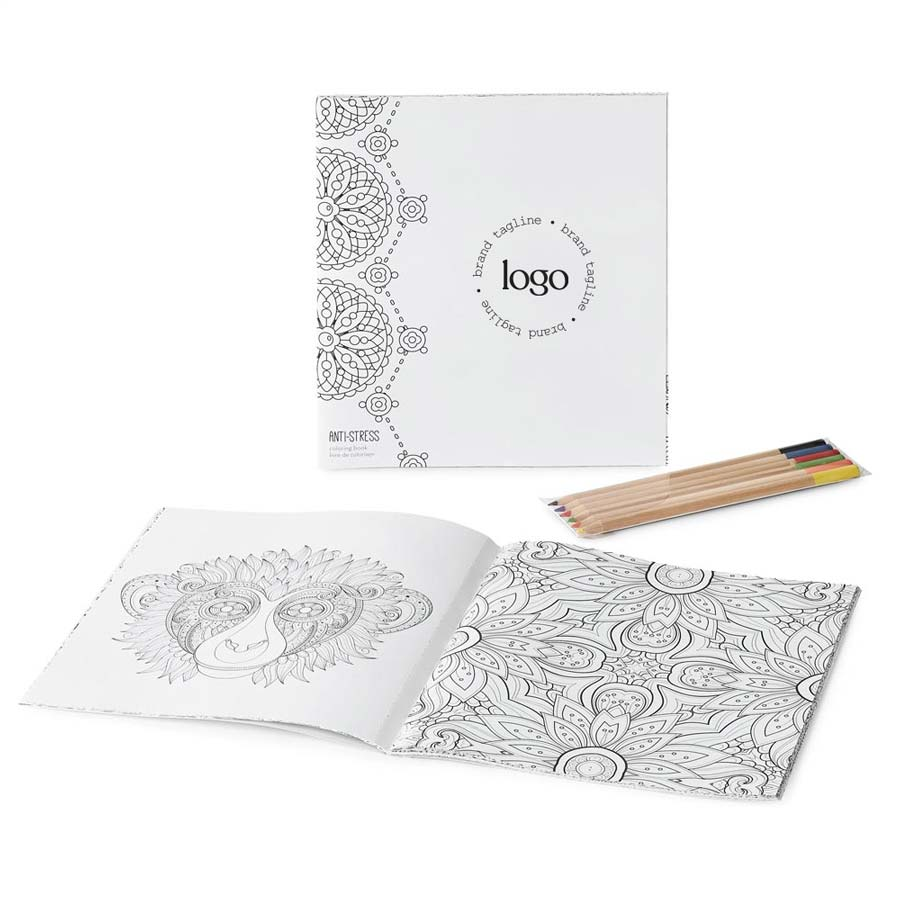 298665 tranquil coloring book set full color imprint one location