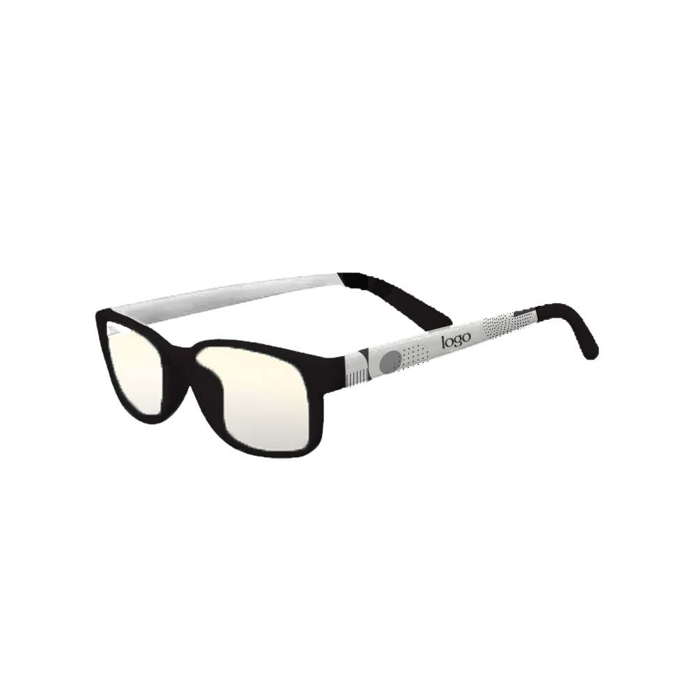 298529 custom blue light glasses pms matched frames up to 3 color screen print on arms