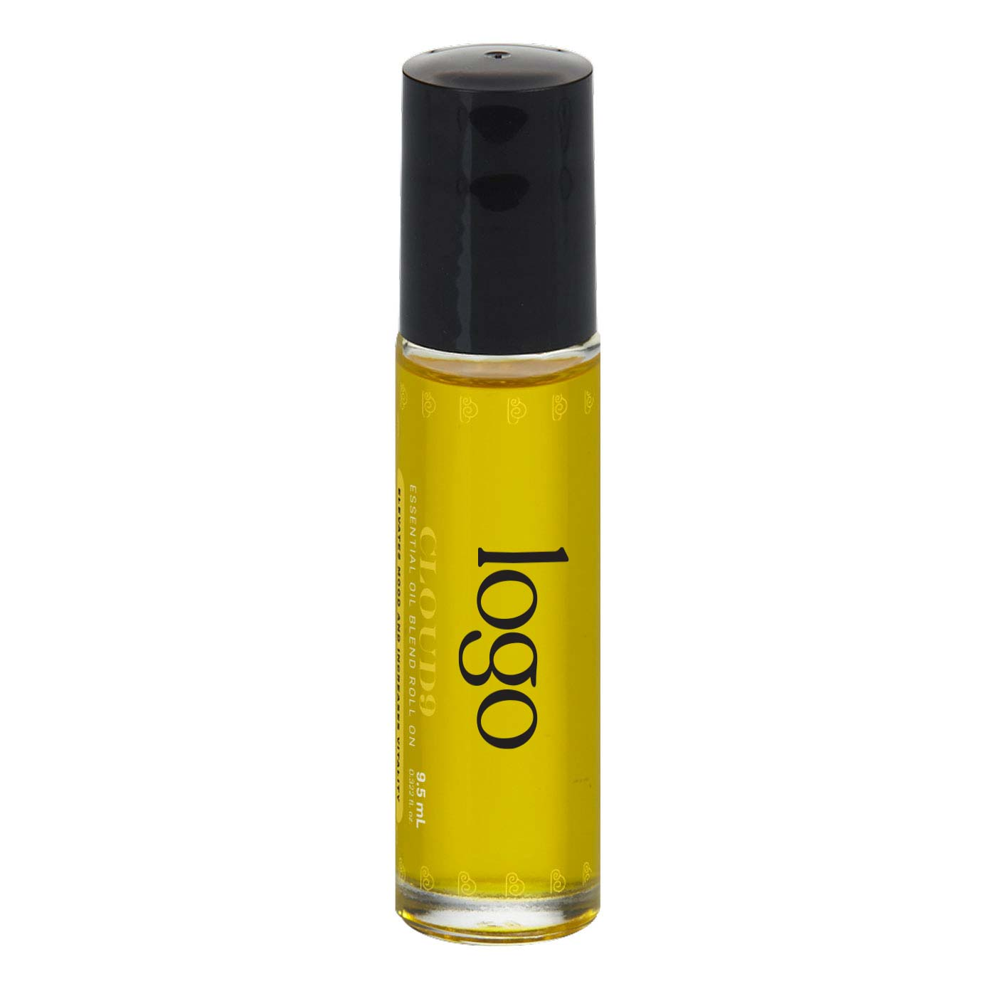 298568 essential oil roller full color label