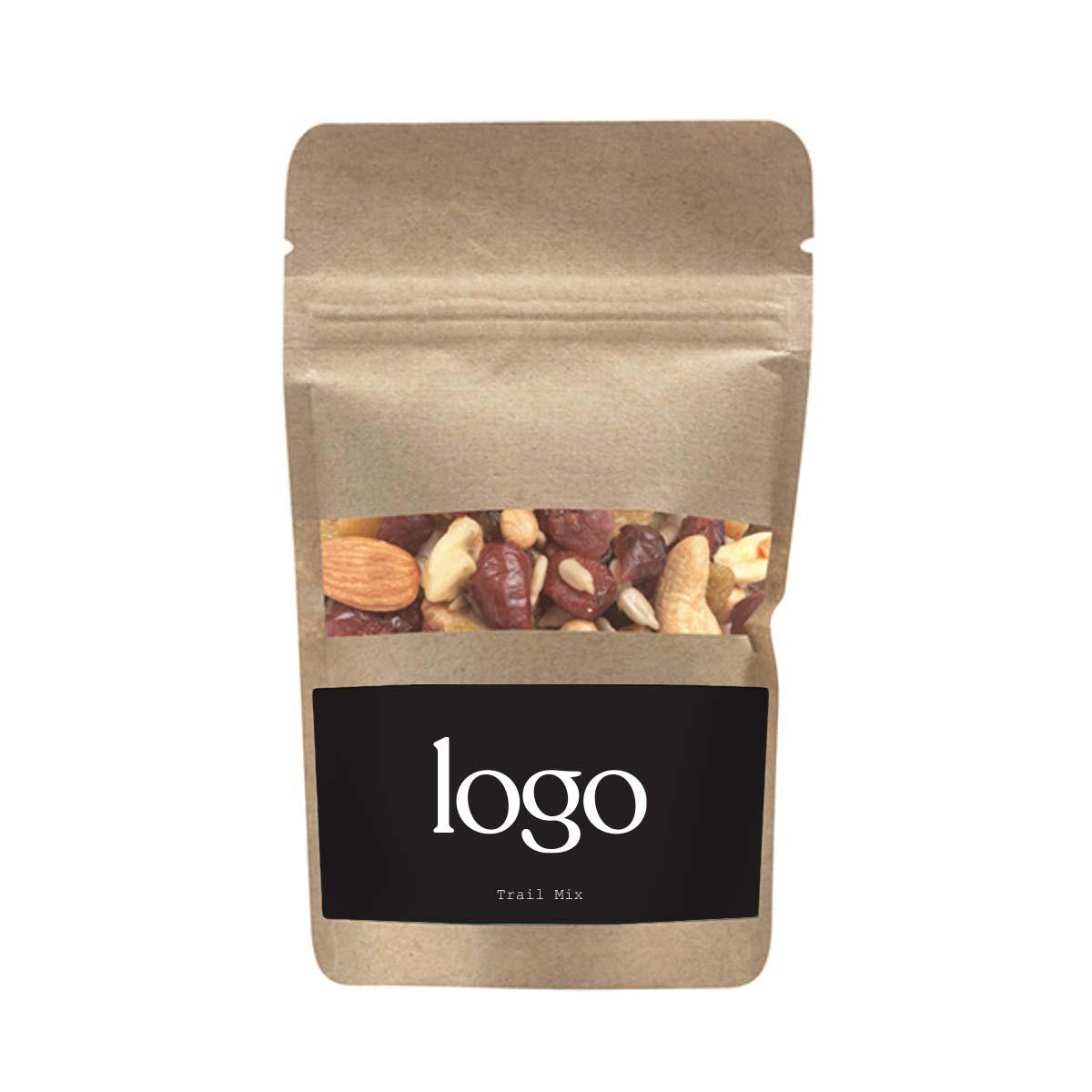 298524 kraft trail mix pouch full color digital label