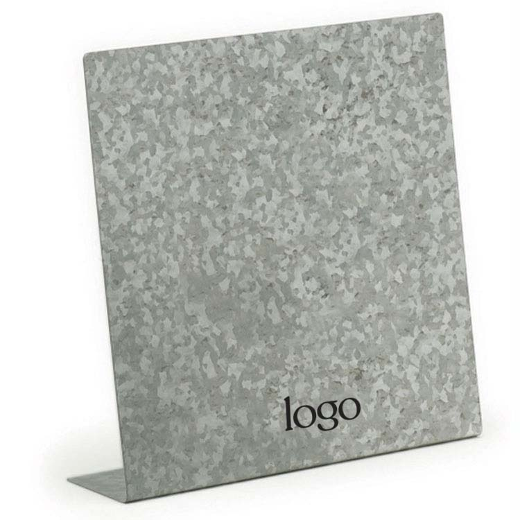 298588 steel memo board one color imprint one location