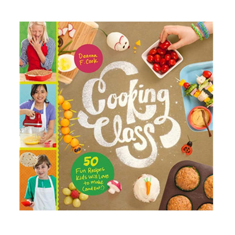 302646 cooking class by deanna cook spiral bound