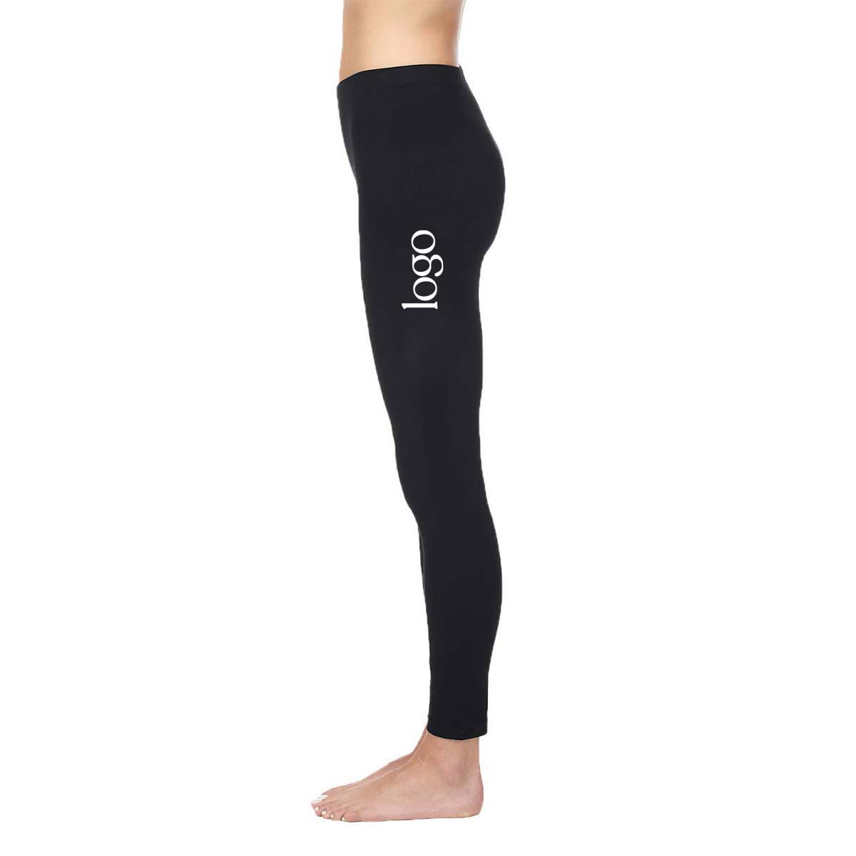 302393 cotton legging one color one location screen