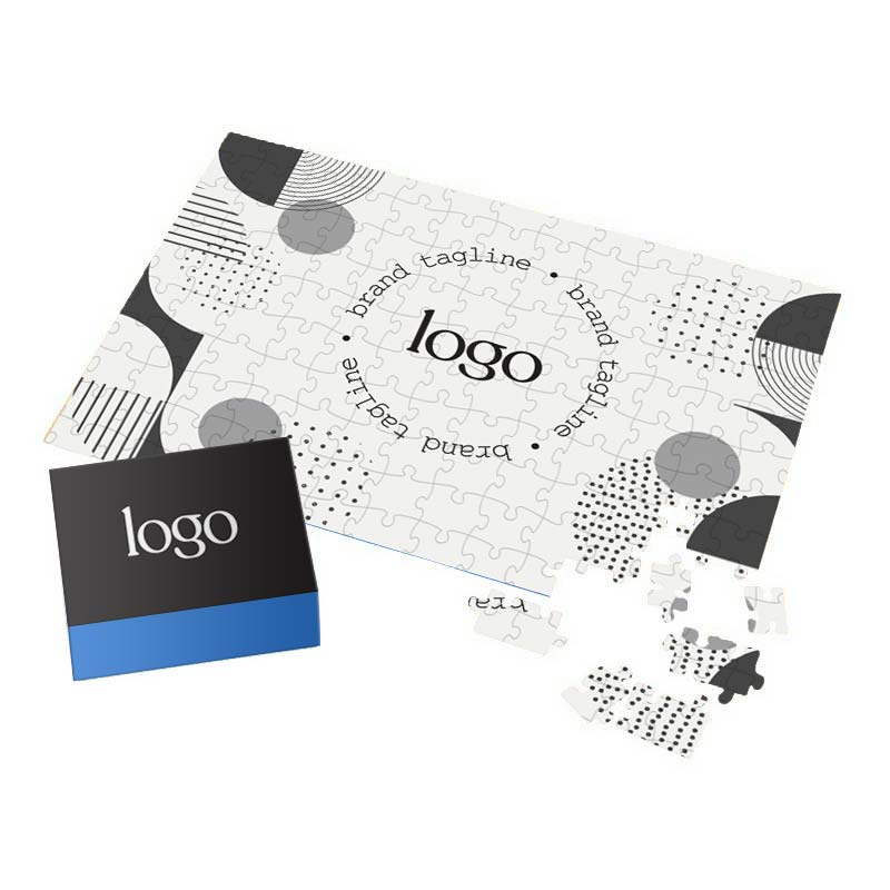 302305 custom puzzle large full color puzzle and box