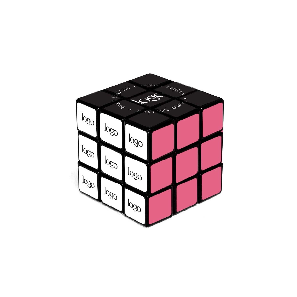 302304 custom puzzle cube full color