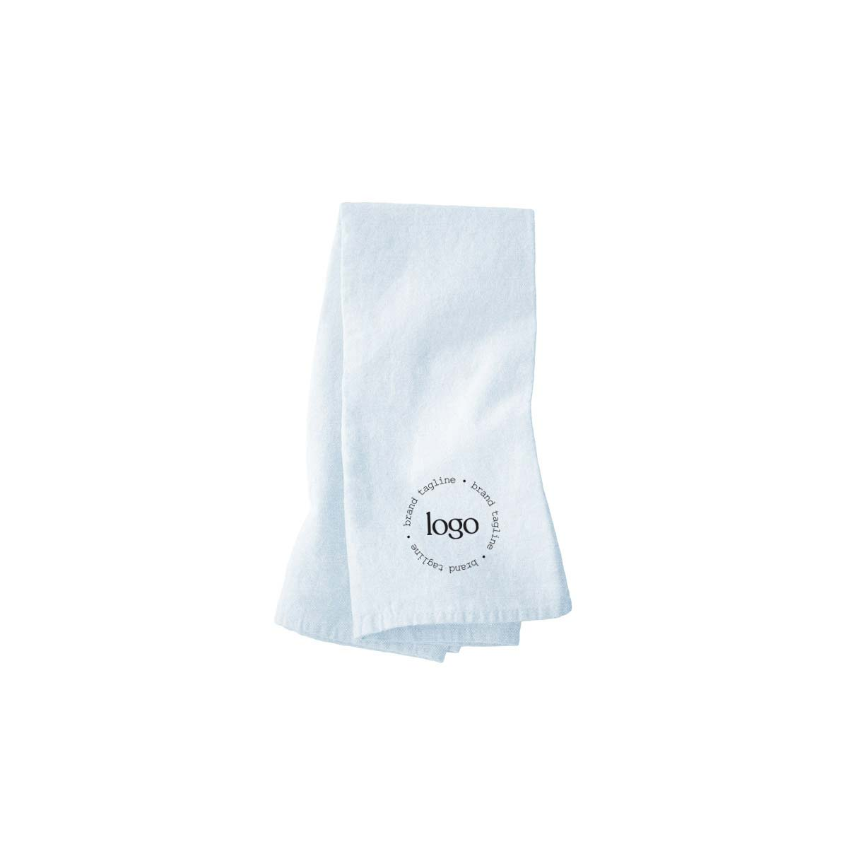 303145 premium tipsy dish towel one color imprint one location