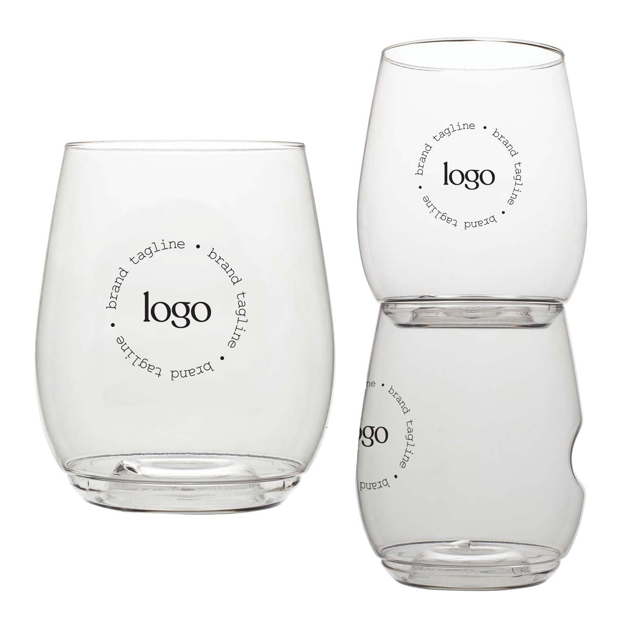 303150 willa wine cocktail glass one color one location pad print