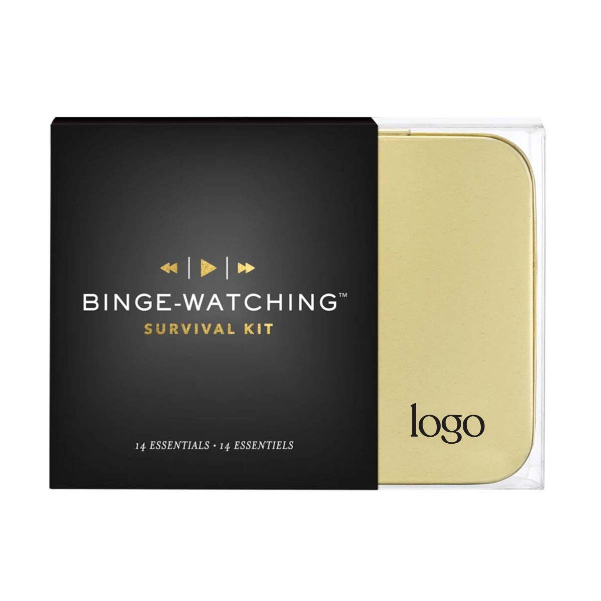 302302 binge watching kit one color one location imprint