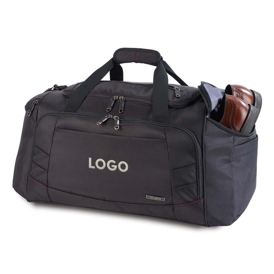 313914 xenon 2 travel duffel one location embroidered