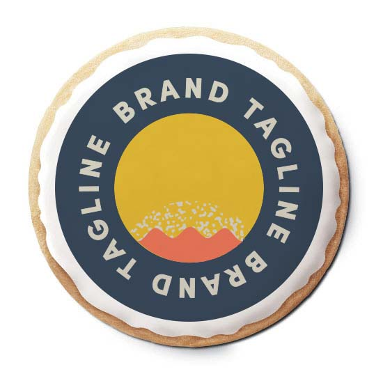 313840 logo sugar cookie full color imprint