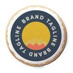 Medium 313840 logo sugar cookie full color imprint