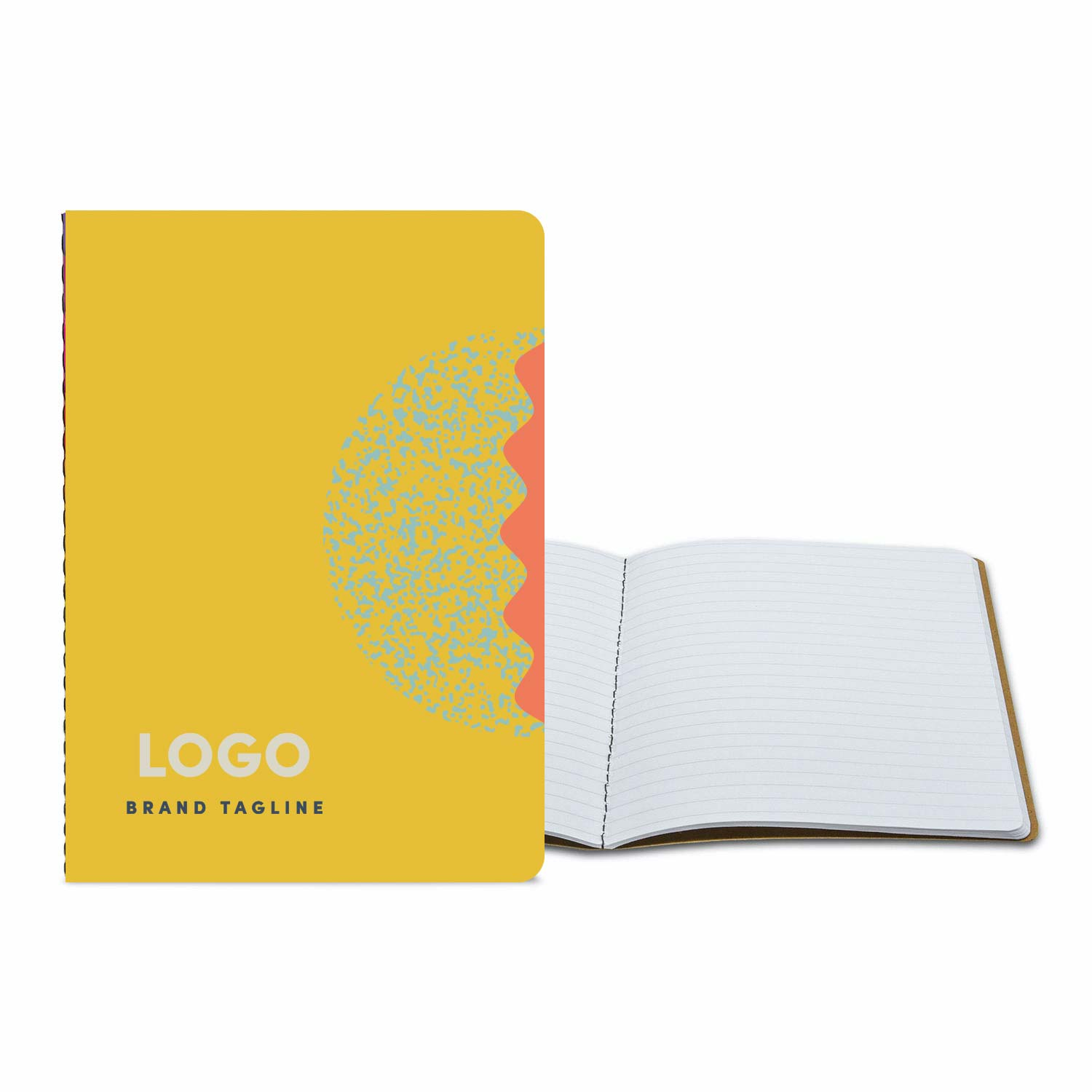 313656 full color commuter journal medium full color cover standard filler pages