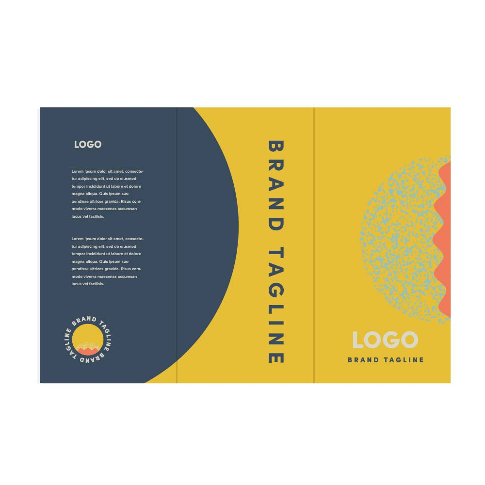 313738 trifold brochure full color digital imprint front and back