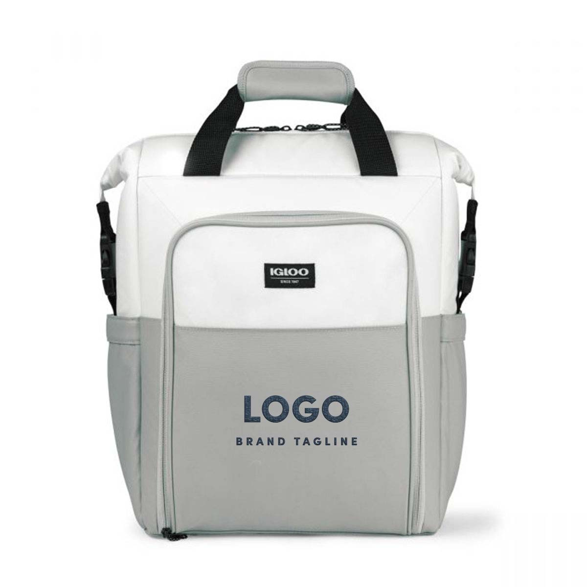 313908 transform backpack cooler embroidered up to 10k stitches one location