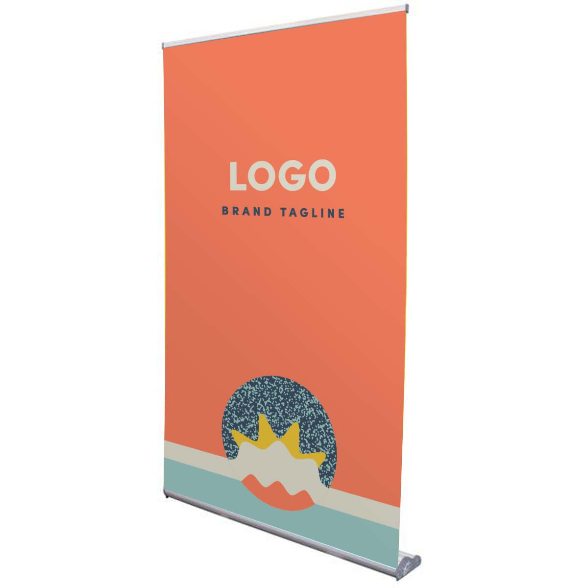 313885 48 retractor banner full color banner one side