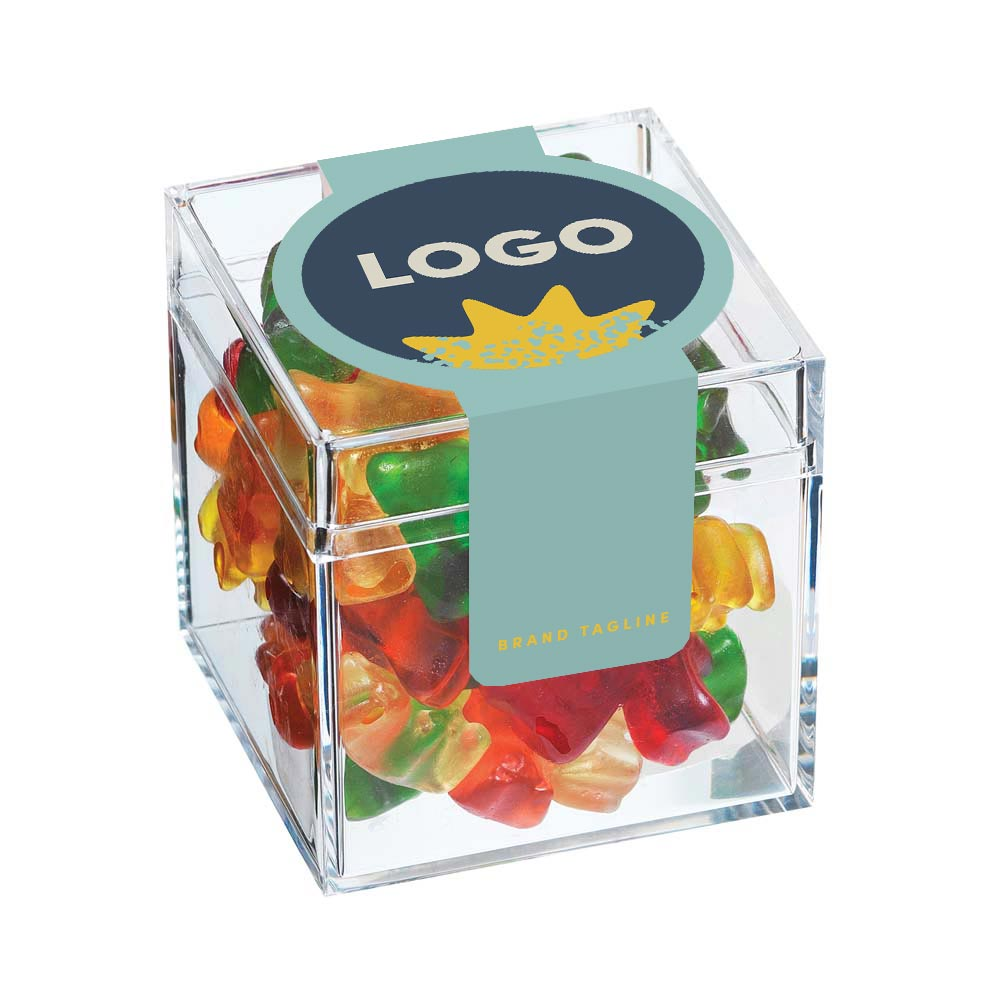 313870 cube candy full color digital print