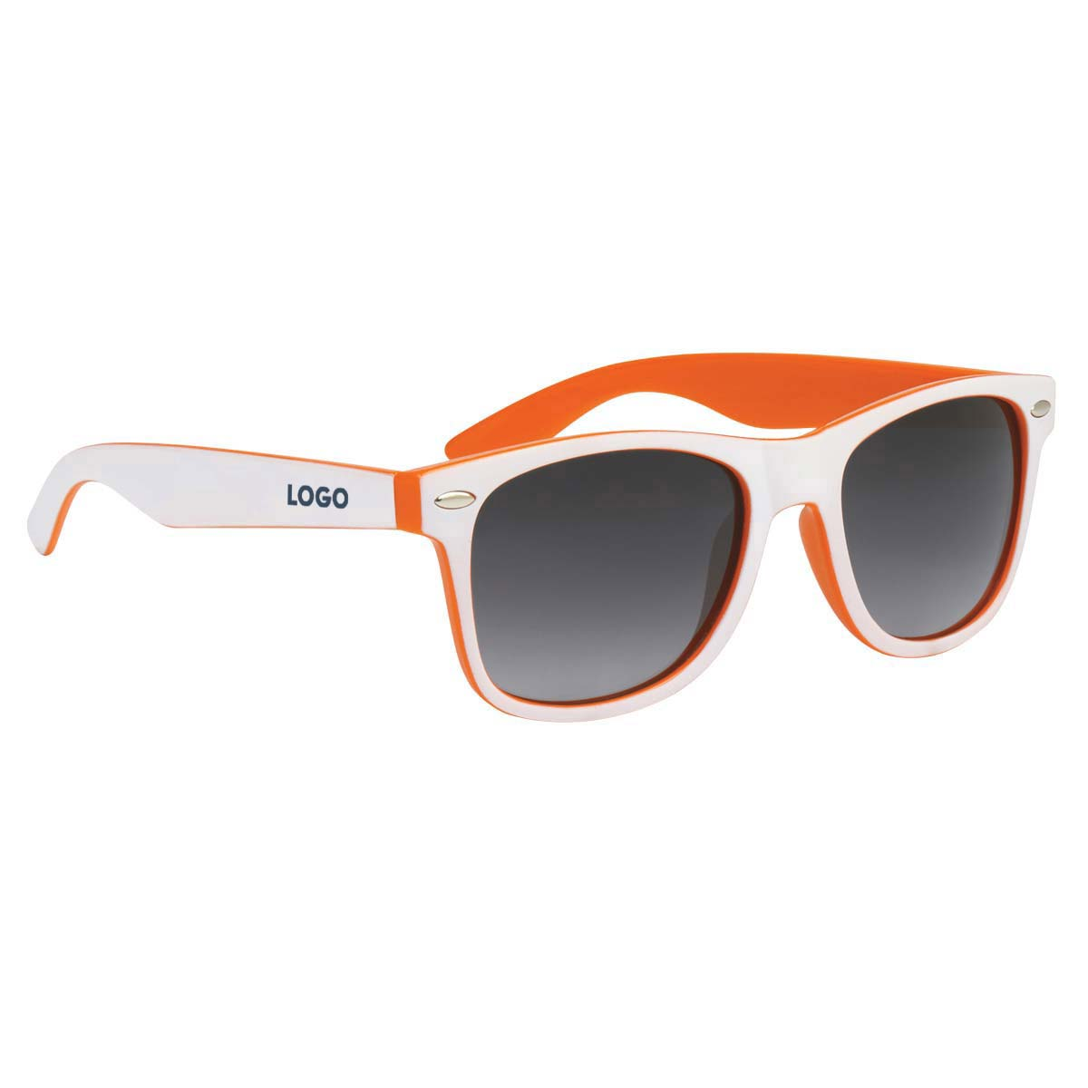 313929 double up sunglasses one location one color imprint