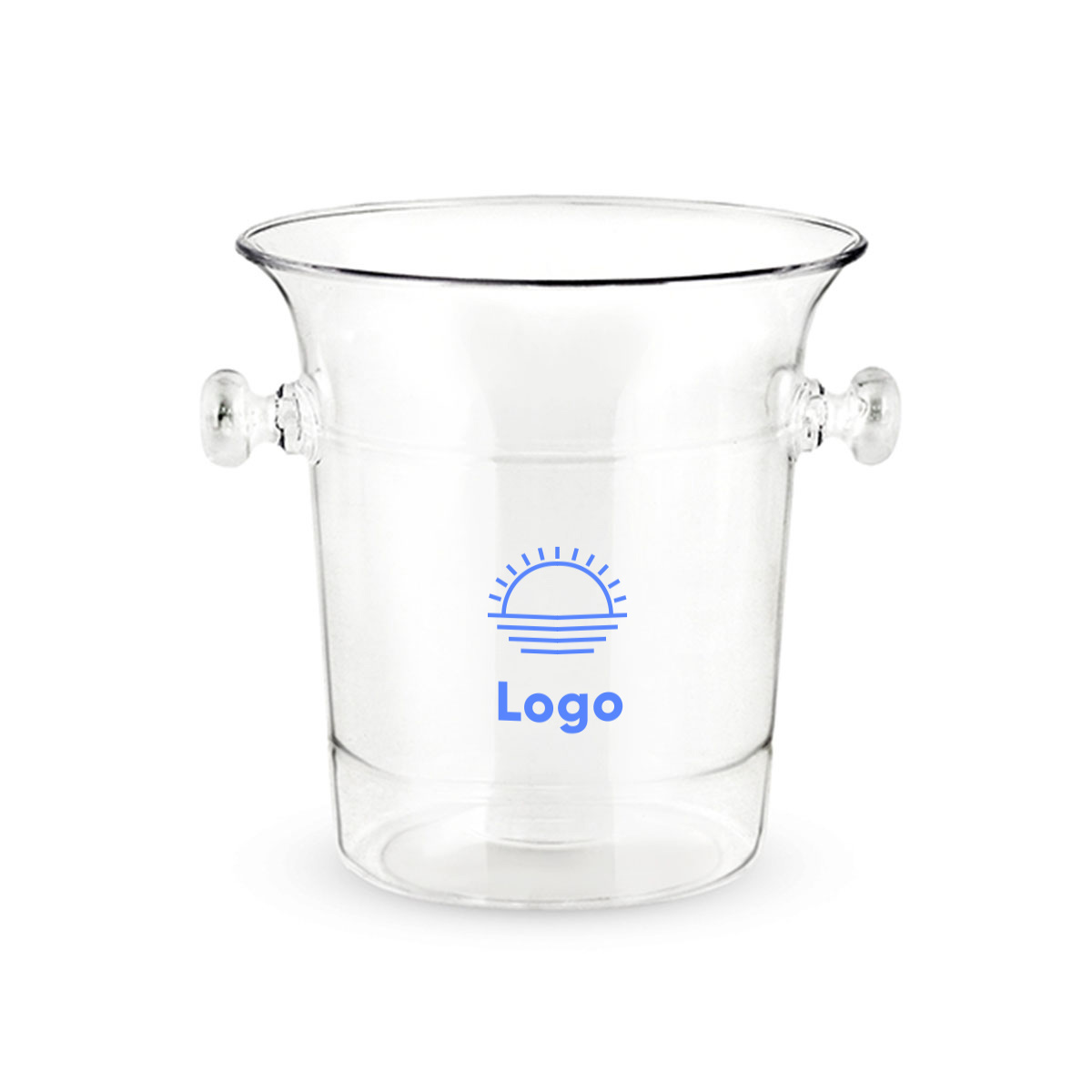318402 havana ice bucket one color imprint one location