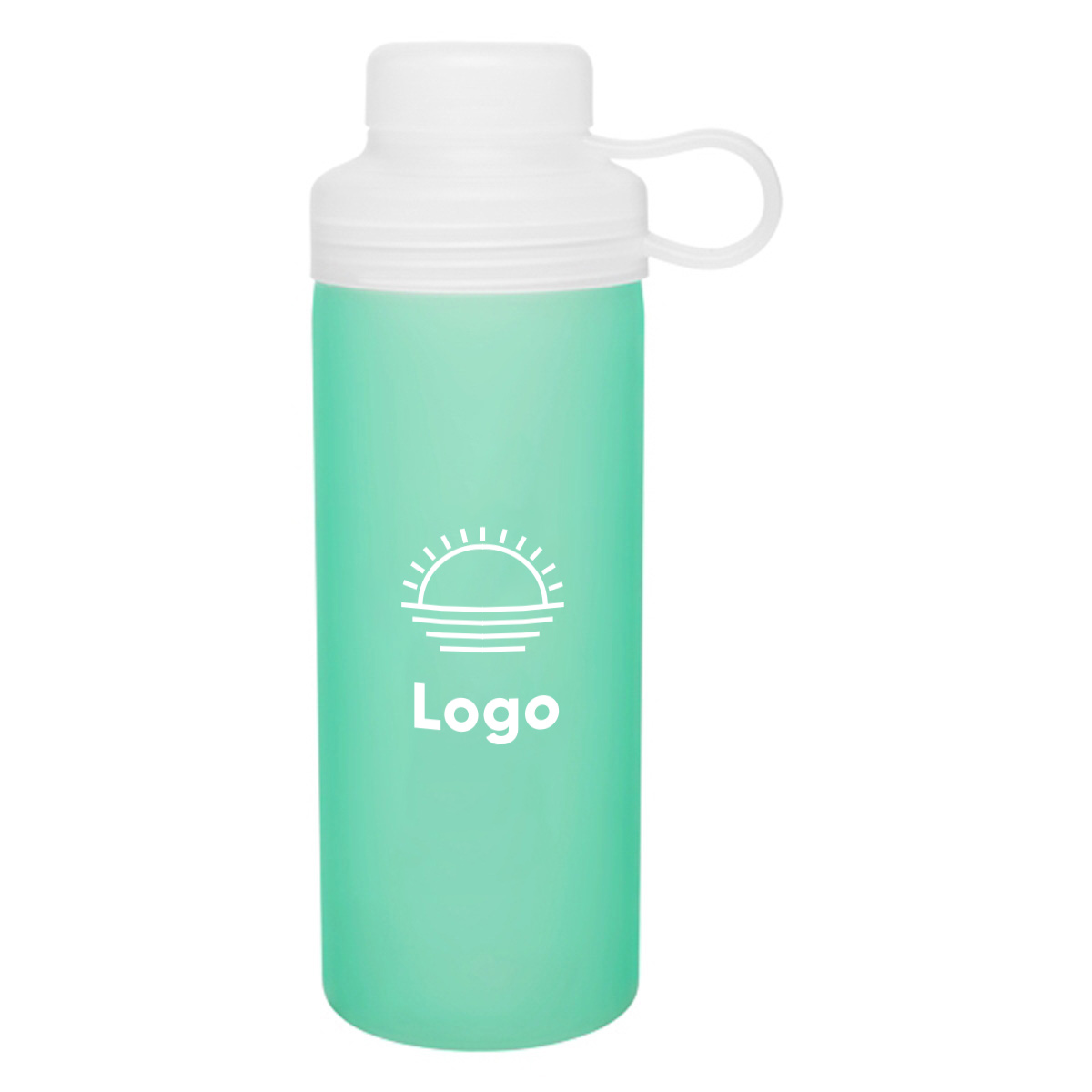 318294 align water bottle one color imprint
