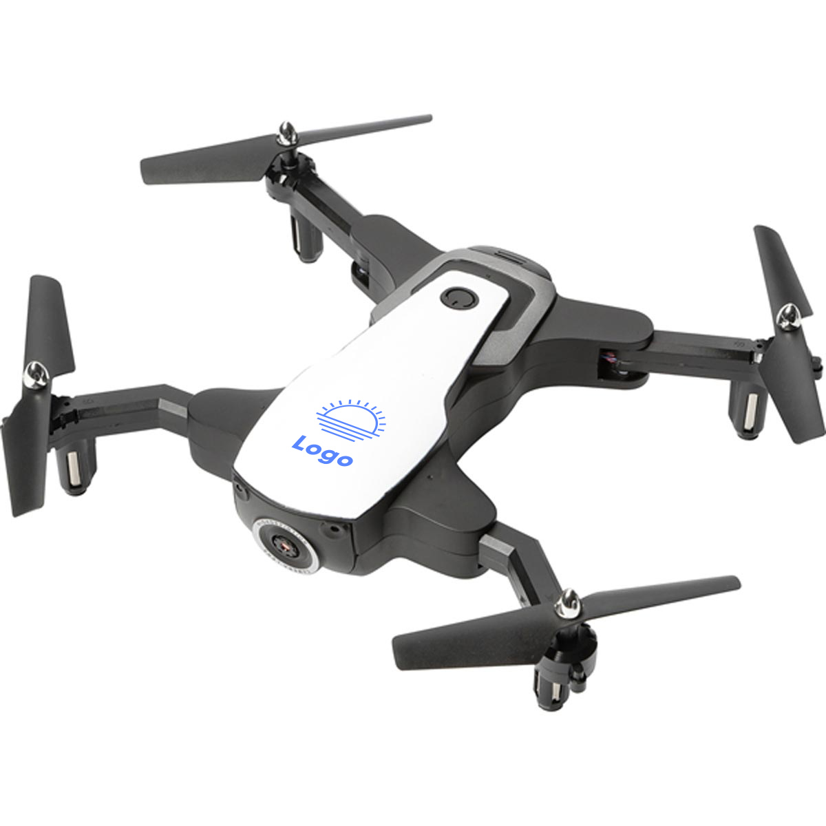 317643 foldable drone one color only one location imprint