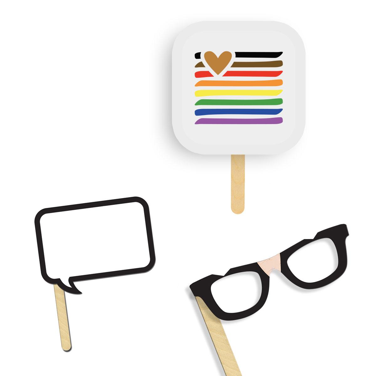 315544 custom selfie kit full color front one color imprint on back