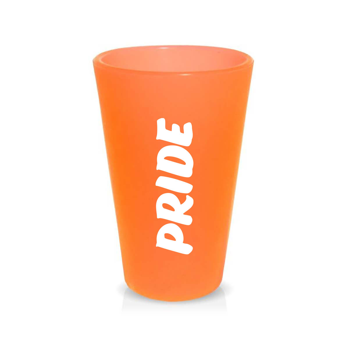 315530 flexible pint glass one color wrap imprint