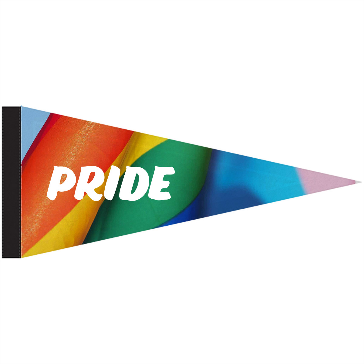 315509 felt pennant full color print one side