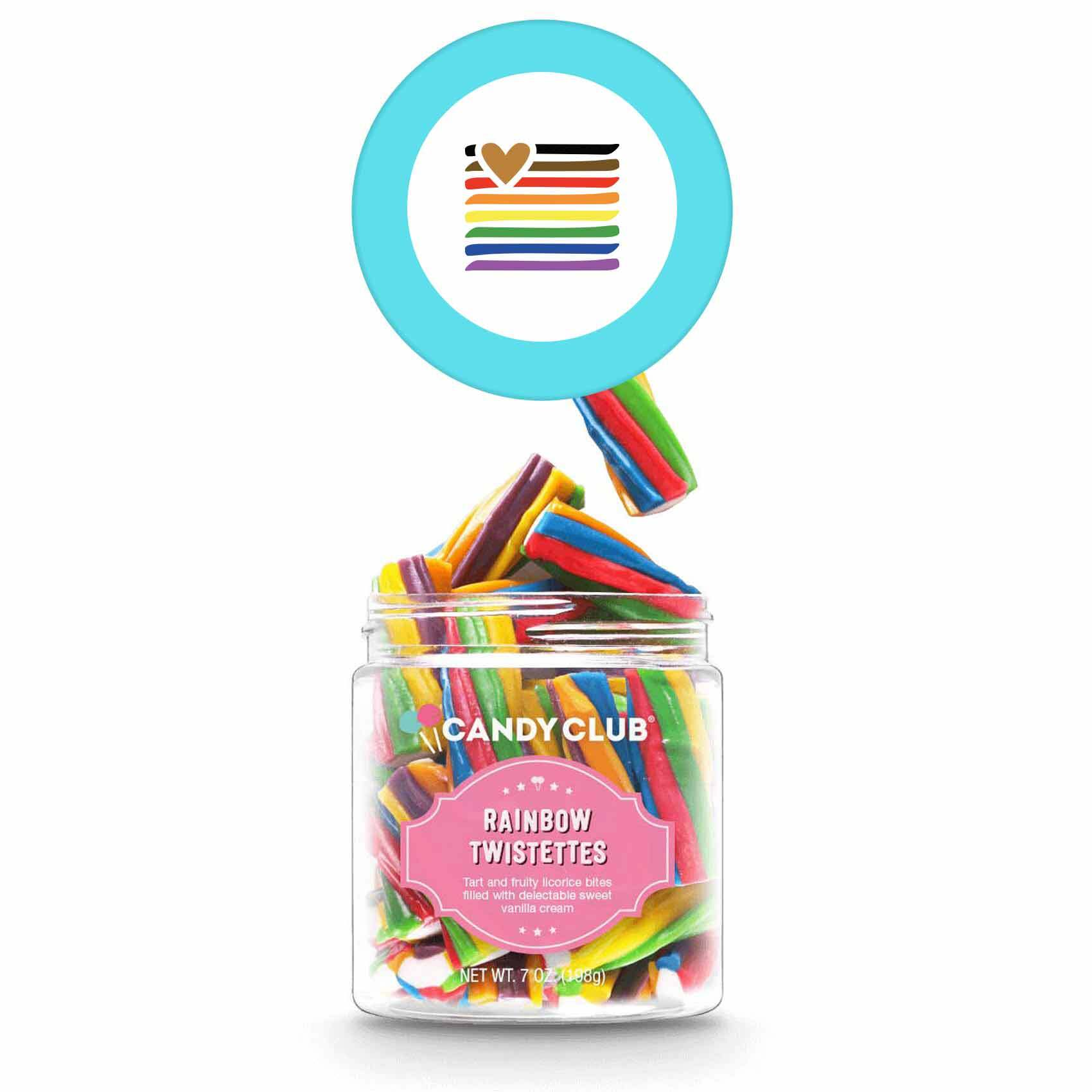 315542 mini candy jar full color label on top of lid must order in increments of 6