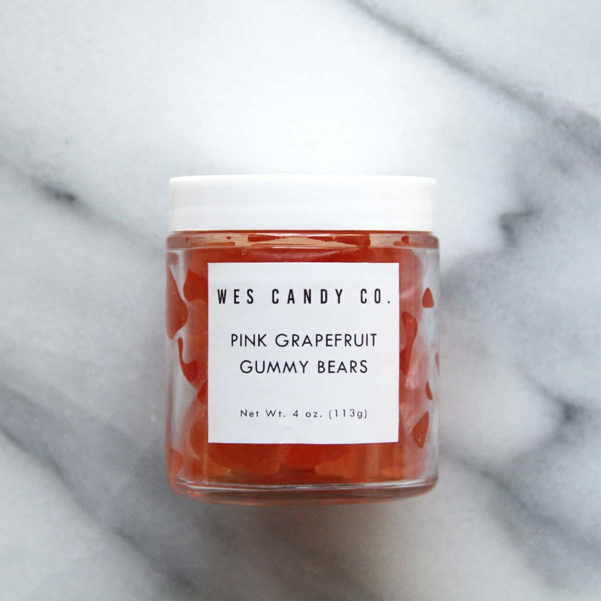 Grapefruit gummy bears